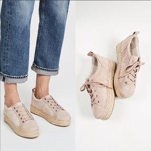Sam Edelman CARLEIGH Espadrille Sneakers Size 8.5M